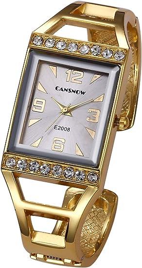 Amazon.com: Top Plaza - Reloj de pulsera analógico de cuarzo ...