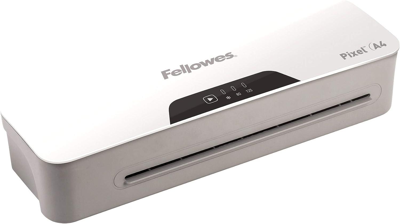 incluye 10 fundas gratis-libre de atascos 125 micras para uso ocasional 5601401 Fellowes-Plastificadora Pixel A3