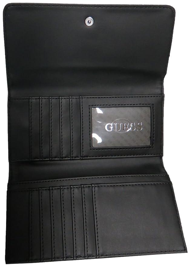 Amazon.com: Guess portafolios de mujer (Burbank Firma Logo ...