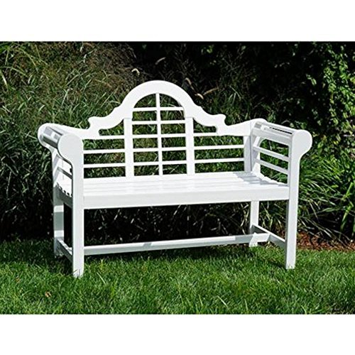 Amazon.com : Achla Designs 4 Foot Lutyen Bench : Outdoor Benches : Patio,  Lawn U0026 Garden