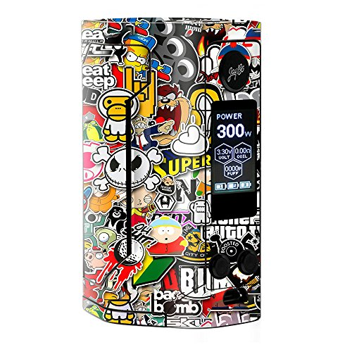 Skin Decal Vinyl Wrap for Wismec Reuleaux RX Gen 3 300W Vape stickers skins cover/Sticker Slap from itsaskin1