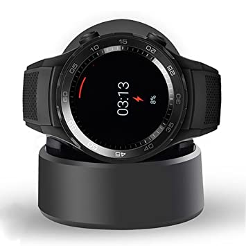 Ceston Reemplazo Cargador Charger Base de Carga para Huawei Watch 2 (Negro)
