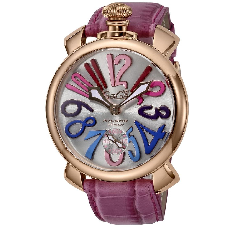 ガガミラノ メンズ腕時計 マヌアーレ 48mm 5011.09S PUR B072C61WY3