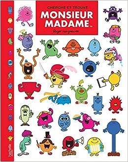 Monsieur Madame Cherche Et Trouve Collectif 9782012249585