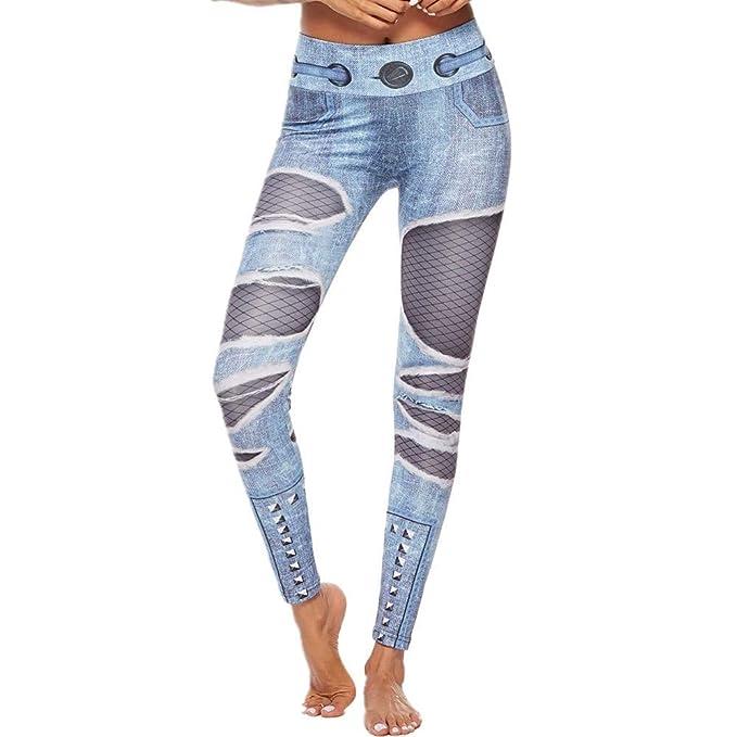 SXZG Nuevo Pantalón De Yoga De Navidad para Mujer, Leggings ...