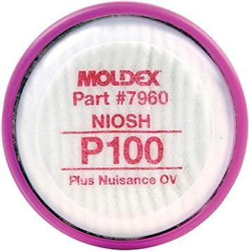 Moldex 7000 7800 9000 Series respirador purificador de aire de ...