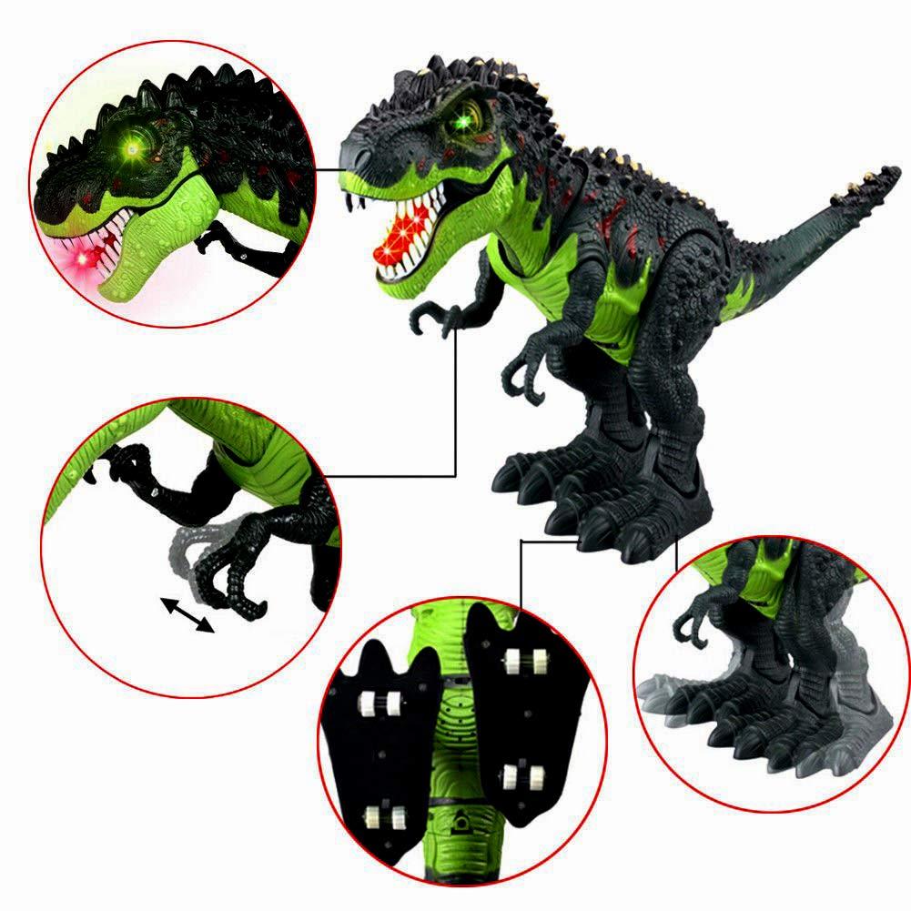 Tuko Dinosaur Toys Jurassic World Electronic Led Light Up Roaring Realistic Large T-Rex Toys for 3-12 Year Old Toddler Boy Girl Gift by Tuko (Image #4)