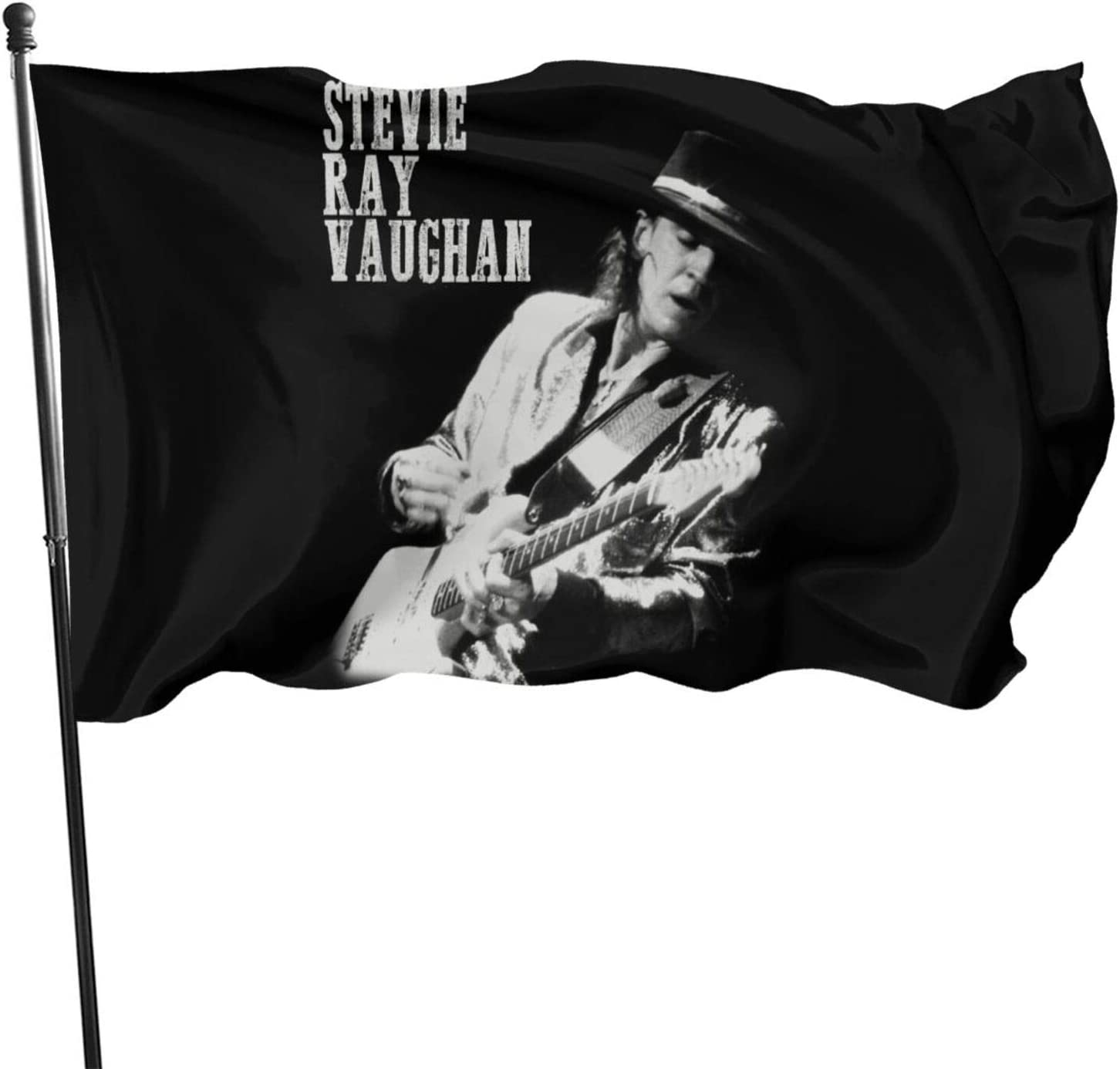 JaoStep Stevie Ray Vaughan Fashion Garden Flag New Welcome Banner Home Decorative Party Flags One Size