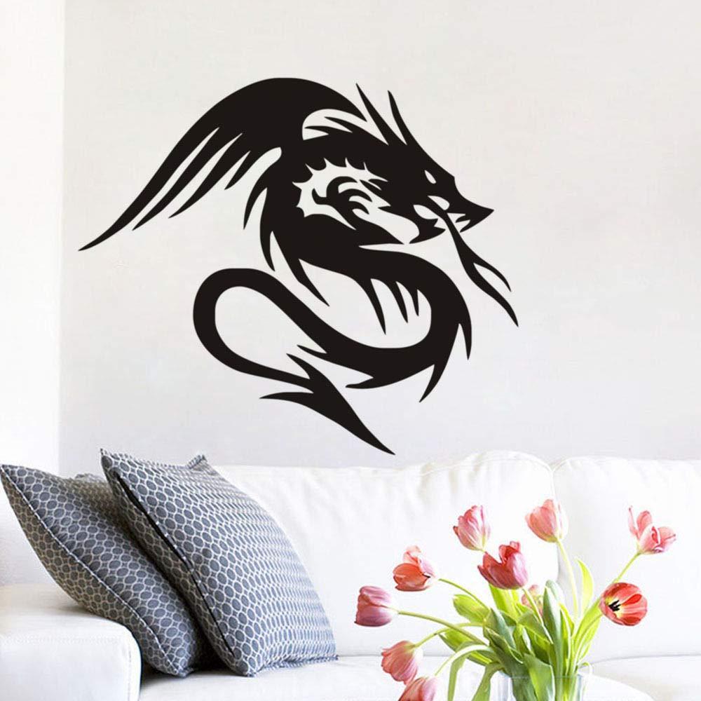 pegatinas de pared tortugas ninja Dragón chino en la leyenda ...