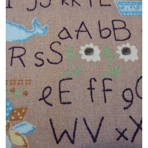 Multicolore Taille Femme Rosa Mouchoir Unique Boutique Alphabet qawn8PWTz