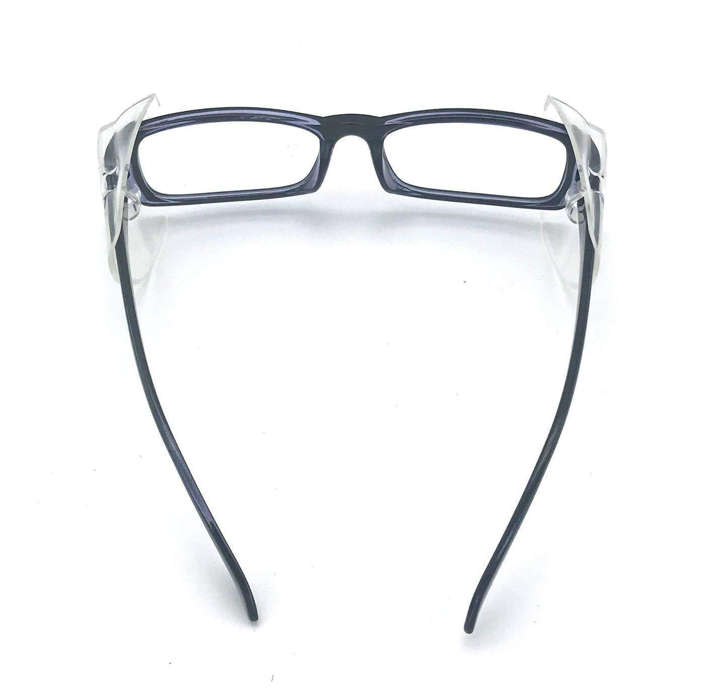 Rayibuir 2 Pares de Protectores Laterales de Seguridad para Gafas de Seguridad tama/ño peque/ño a Mediano