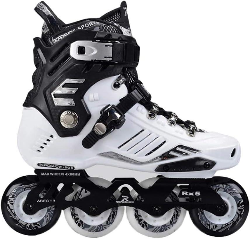 JIANXIN インラインスケート、男性用屋外大人ローラースケート、女性、初心者スケート、ホワイトスーツ (Size : EU 40)  EU 40