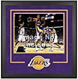 Los Angeles Lakers Deluxe 16'' x 20'' Frame - Fanatics Authentic Certified - NBA Other Display Cases