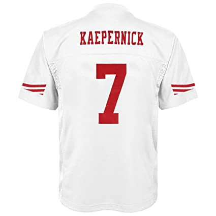 ee014c44 Outerstuff Colin Kaepernick San Francisco 49ers Youth White Jersey