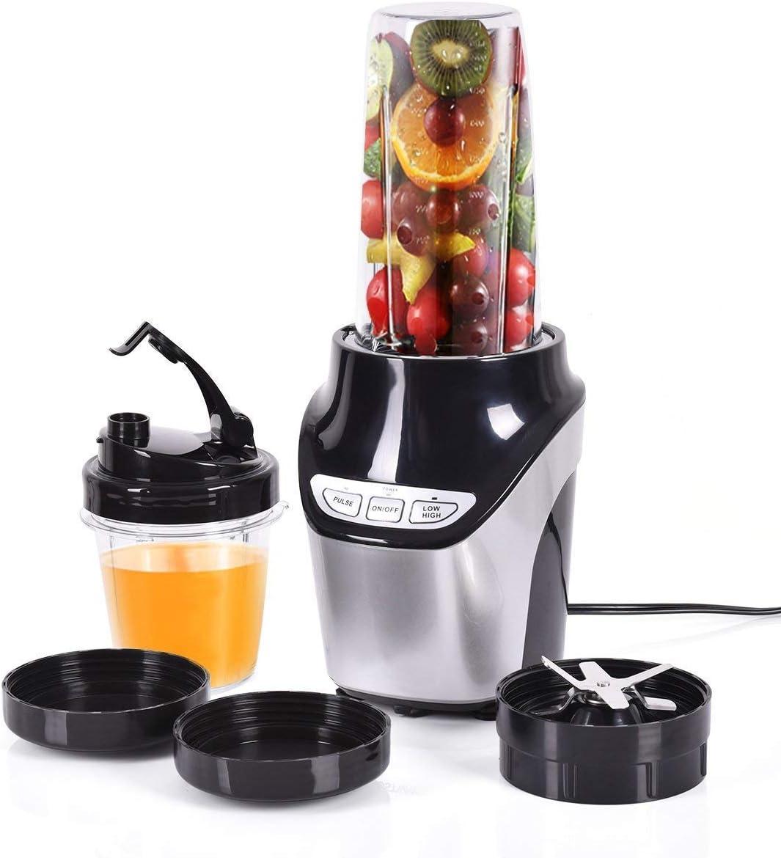 Costzon Fruit Blender Mixer Grinder Vegetable Processor 1000W 2 Speed, 2 Cups Included