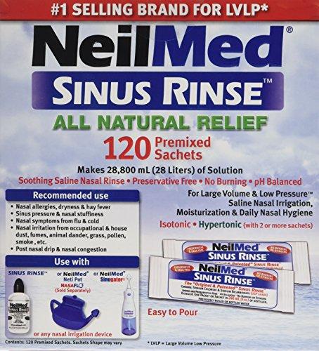NeilMed Sinus Premixed Refill Packets