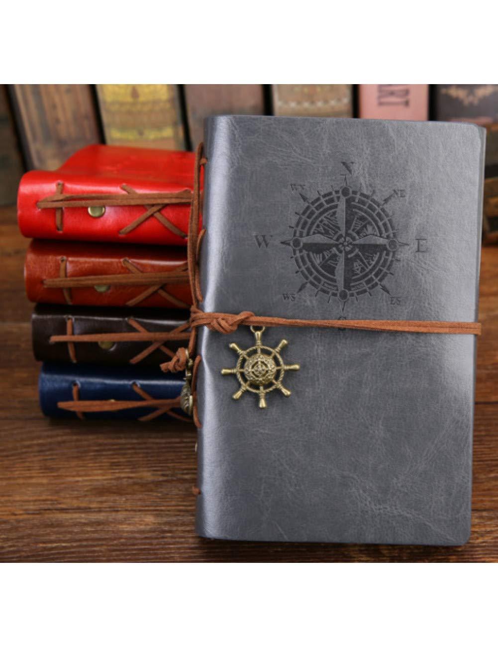 ZXSH Cuaderno Agenda De Agenda Vintage A5 Con Cuaderno De ...