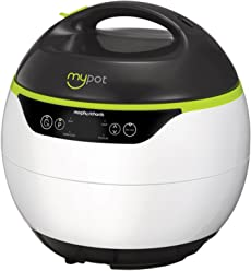 Morphy Richards 15-in-1 Multicooker Electric Pressure Cooker 560005 MyPot 950w with Accessories Green White