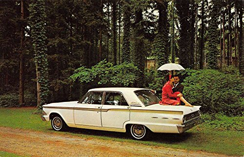 1962 Fairlane 500 Early Auto Car Vintage Postcard - Stores Fairlane In