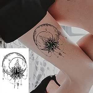 5Pcs-Etiqueta engomada del Tatuaje Impermeable Cobra Serpiente ...