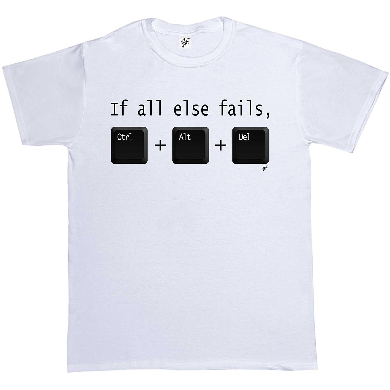 CTRL ALT DEL T Shirt IT Technical Control Delete Nerd Tech Support Tshirt