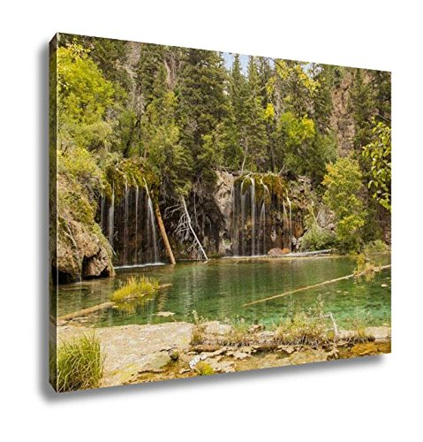 Ashley Canvas, Hanging Lake Near Glenwood Springs In Colorado, Kitchen Bedroom Dining Living Room Art, 24x30, AG6366304