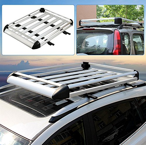 World Pride Aluminum Silver Roof Basket Car Roof Top With