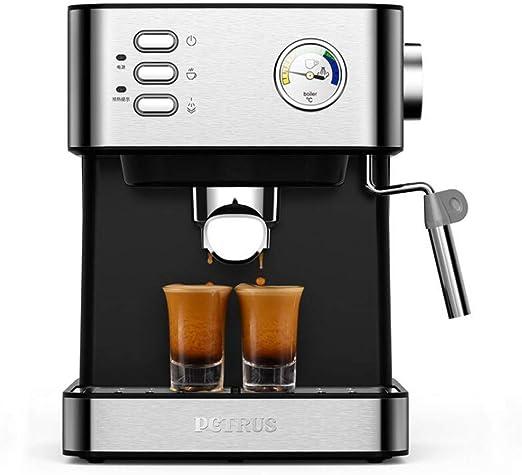 KOUDAG Cafetera Máquina de café semiautomática Espresso Steam ...