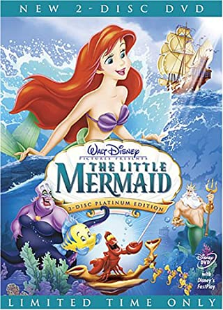 Amazon.com: The Little Mermaid (Two-Disc Platinum Edition): Rene  Auberjonois, Christopher Daniel Barnes, Jodi Benson, Pat Carroll, Paddi  Edwards, Buddy Hackett, Jason Marin, Kenneth Mars, Edie McClurg, Will Ryan,  Ben Wright, Samuel E.