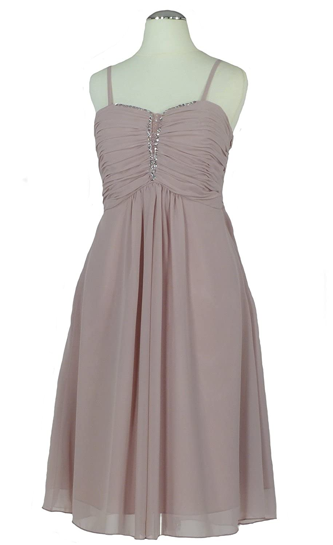 best cheap 5d9c8 3c82a Samtlebe® - Chiffon Cocktailkleid Abendkleid knielang ...