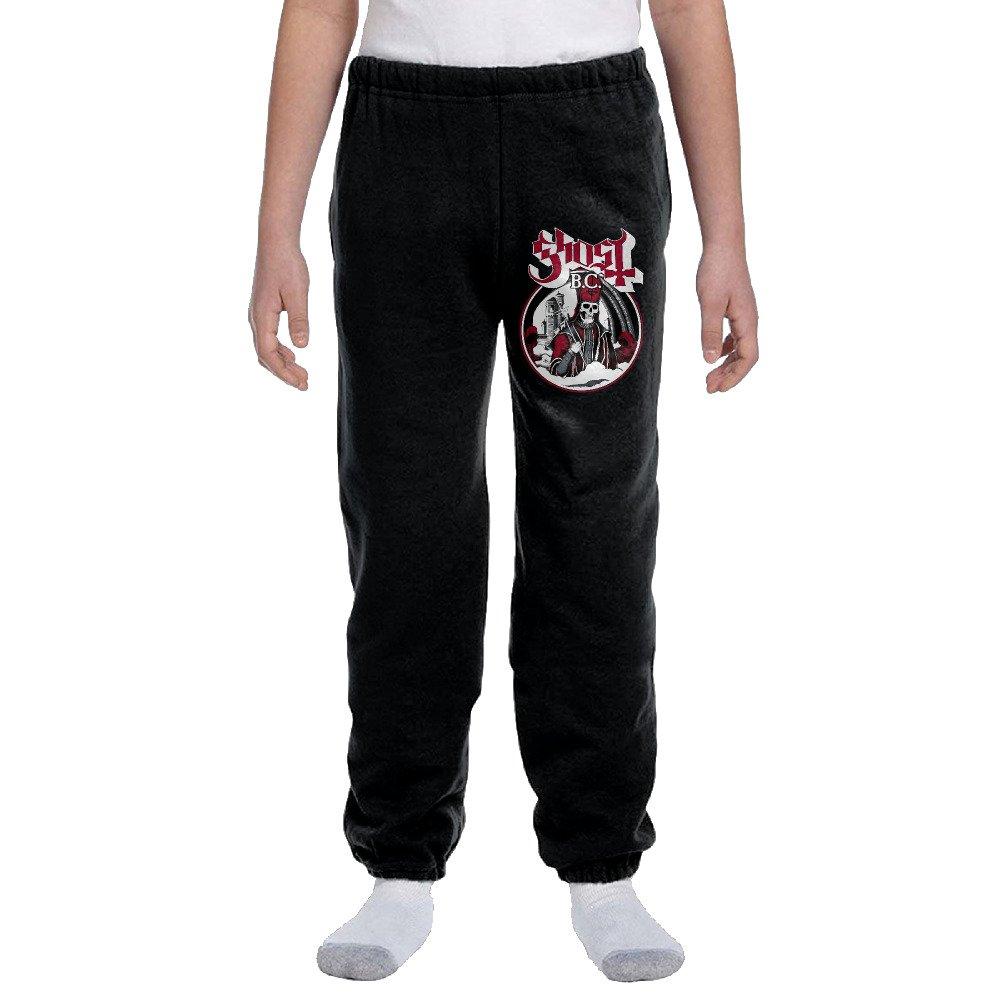 Youth Basics Fleece Pocketed Sweatpants Popestar-Ghost B.C
