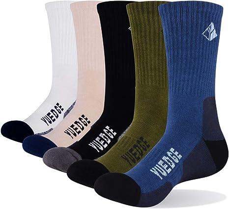 2 paia taglia 6-11 Da Uomo cotone sport Socks PLAIN NERO COME FOTO