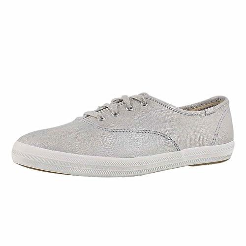 Champion Metallic Linen Sneaker, Silver