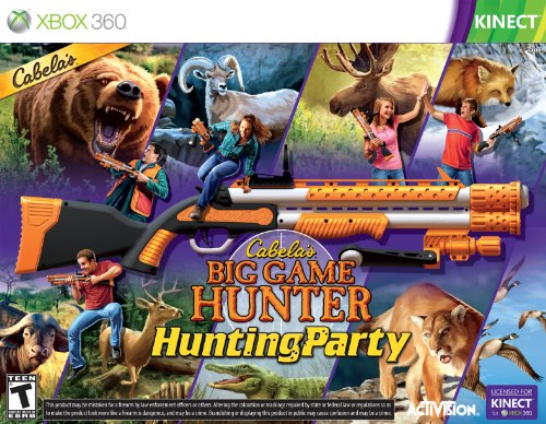 Cabela's Big Game Hunter Hunting Party with Gun - Xbox 360
