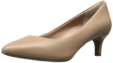 Rockport Women's Total Motion Kalila Pump, Warm Taupe Calf, ...