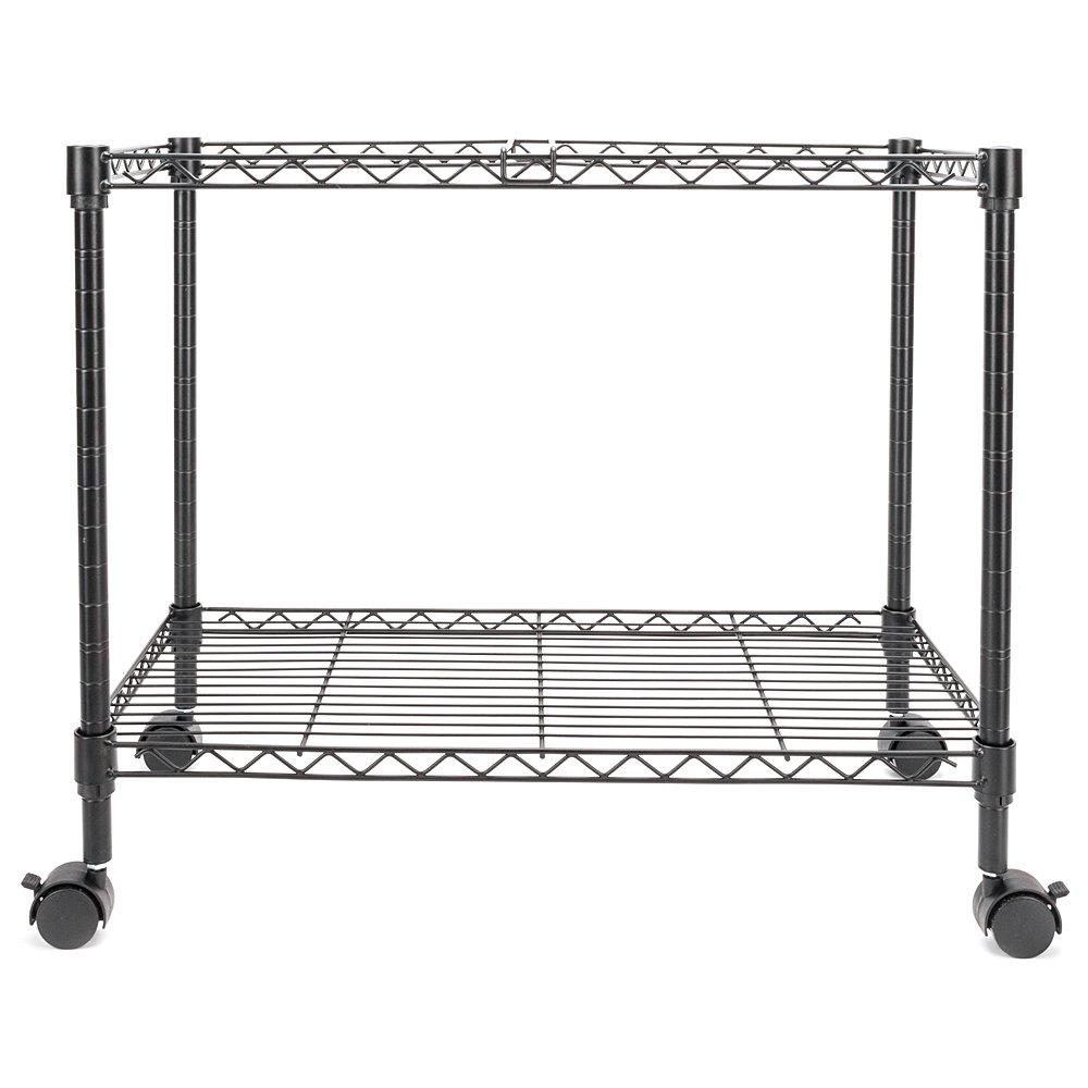 Zippem Single-Tier Rolling File Cart, 24w x 13d x 18h, Black (US Stock) by Zippem (Image #6)