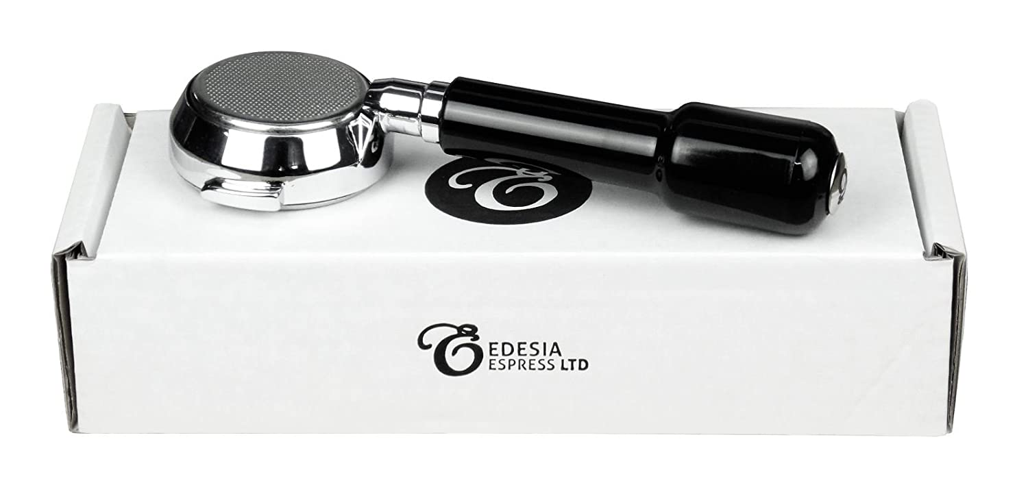 Bottomless Naked Portafilter for FRACINO Espresso Machines, 21g Basket - by EDESIA ESPRESS Edesia Espress Ltd
