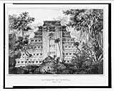 Historic Print (L): La Piràmide de Papantla. (Llamado el Tajin) / C. N...