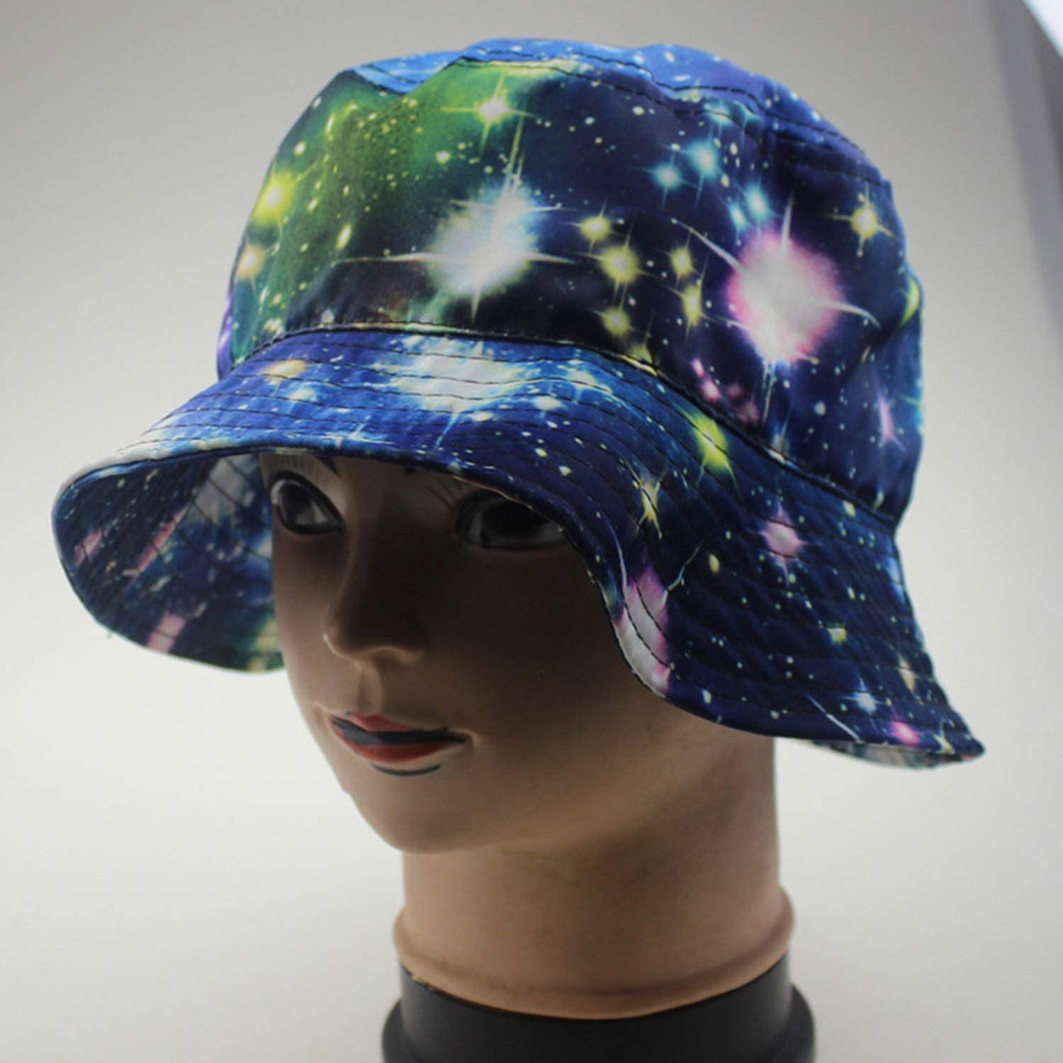 Bucket Hats Women Fruit Star Printed Spring Sun Shading Outdoor Fisherman Hat Womens All-Match Leisure Trendy Chic,4,One Size