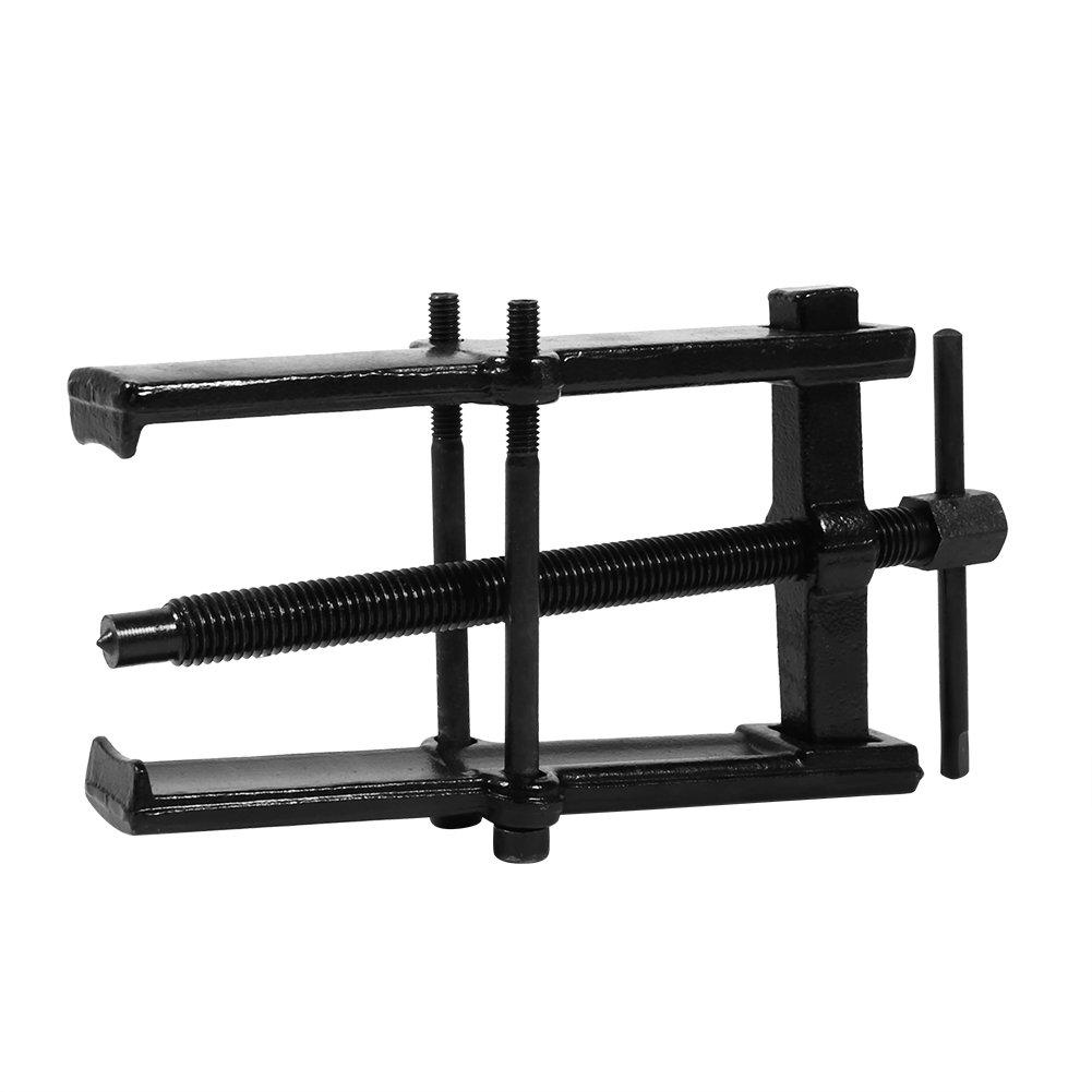 Qiilu Extractor de Rodamientos Dos Garras Piernas Gemelas Kit de eliminaci/ón de herramientas manuales 6(55*90)