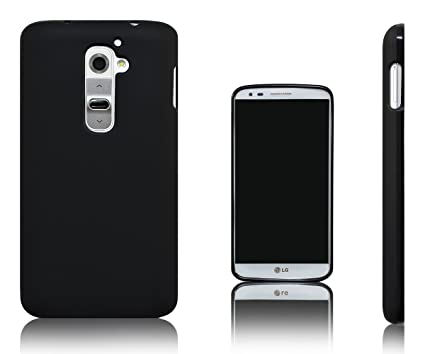 Xcessor Vapour Funda Carcasa de TPU Gel Flexible Para LG G2. Negro