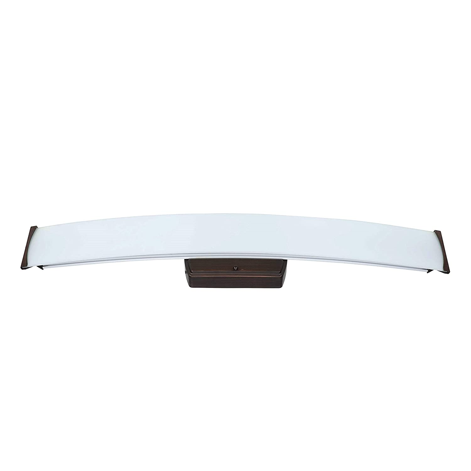 Good Earth Lighting LED Linear Vanity – Brushed Bronze