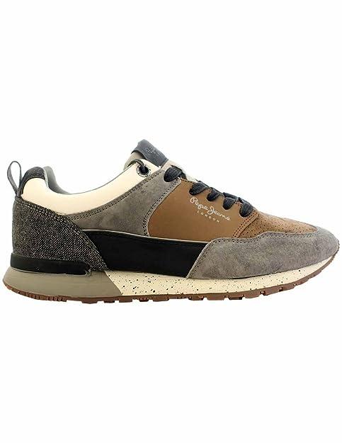 Y Gris Complementos Zapatos 2 Jeans Amazon Boston es Zapatilla 0 Pepe qXpzTz