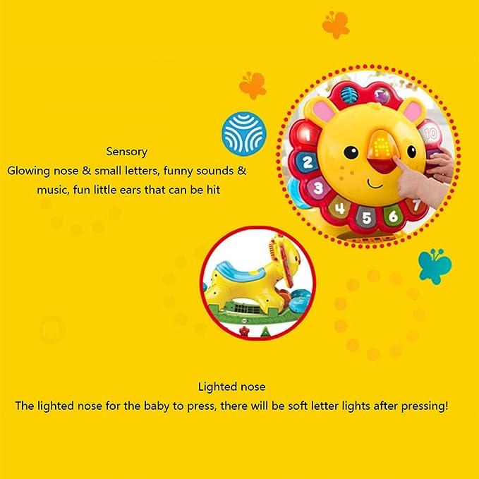 CHAOLIU 4 en 1 niños bebés Sonidos Musicales Actividad Push ...