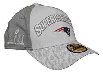Image Unavailable. Image not available for. Color  New Era New England  Patriots Super Bowl LII Bound 9FORTY Adjustable ... 895e130b2