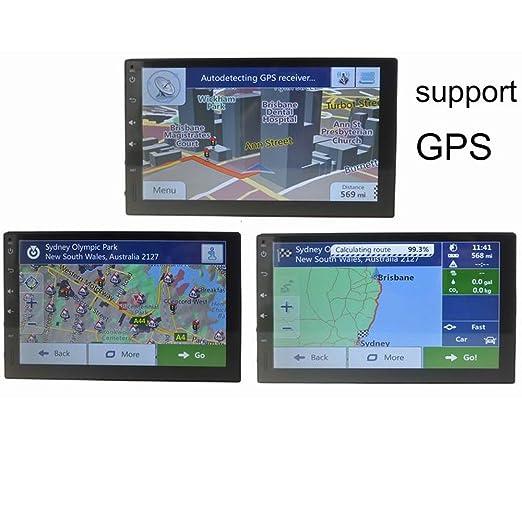 BoomBoost 7 pulgadas de radio estéreo de coche Bluetooth GPS ...