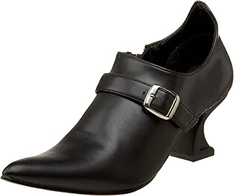 Pleaser ELF-05 Womens Shoes, Black PU