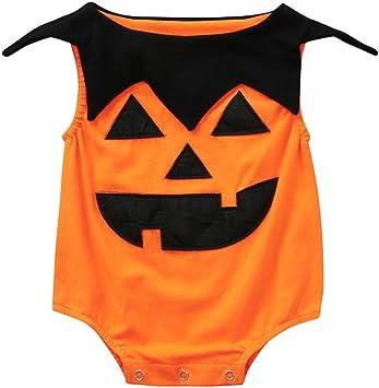 Amazon.com: Ankola Halloween mono, recién nacido, bebé ...