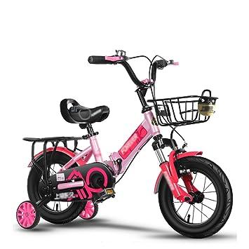 Bicicletas para niños Cochecito De Niño Bicicleta Plegable Plegable con Amortiguador Pedal para Bebés 3-