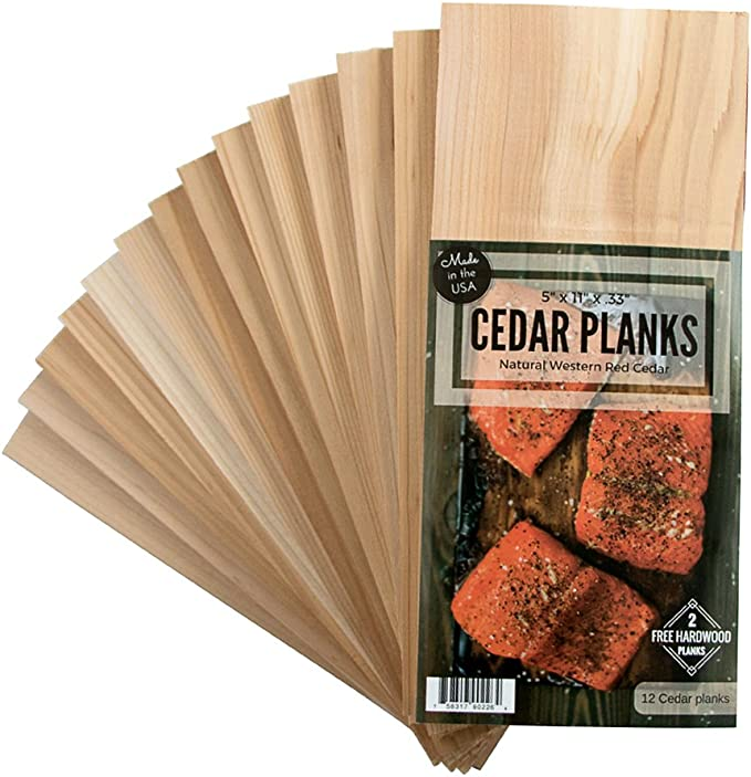 """Cedar Grilling Planks 30 Pack 5.5/"""" x 11/"""" Free Shipping"""